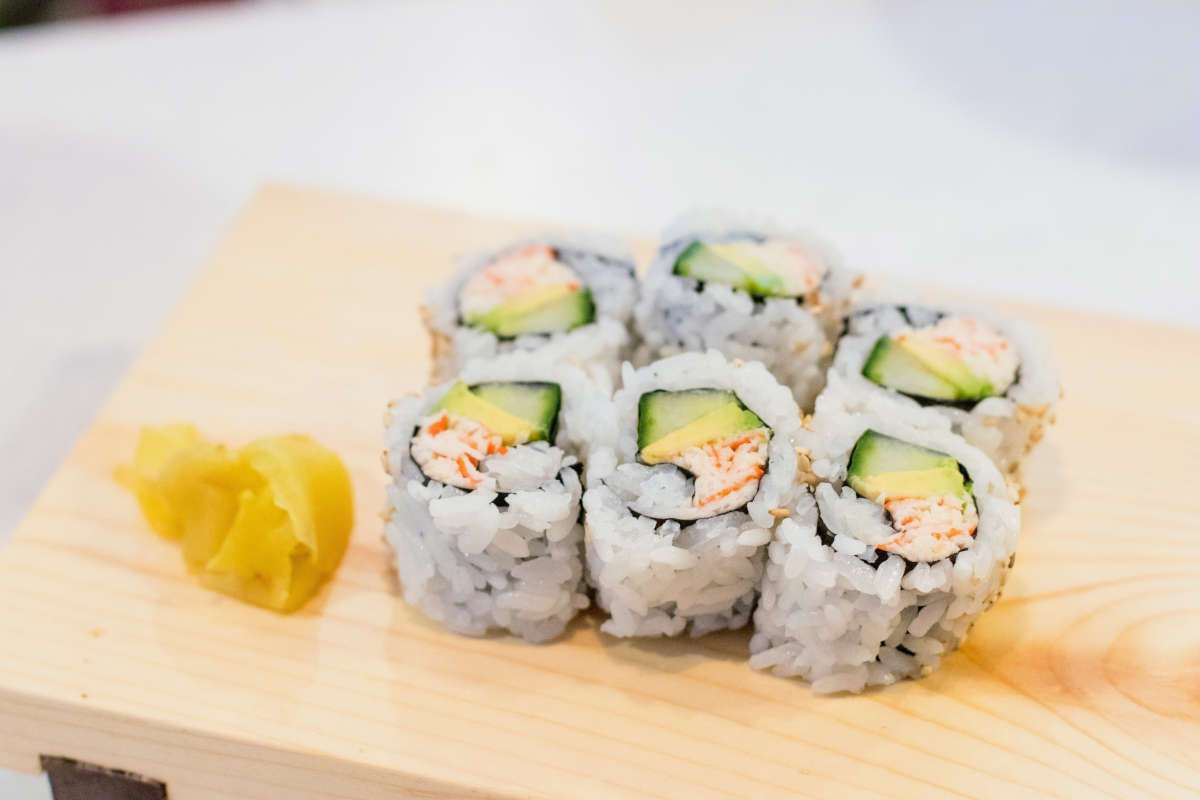 California Rolls The Japanese Kitchen