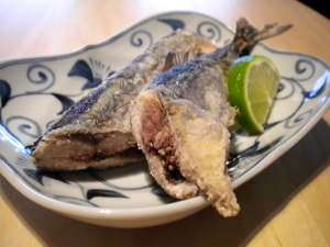 Simple Fried Sanma