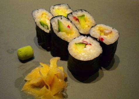 Smoked Roe Sushi
