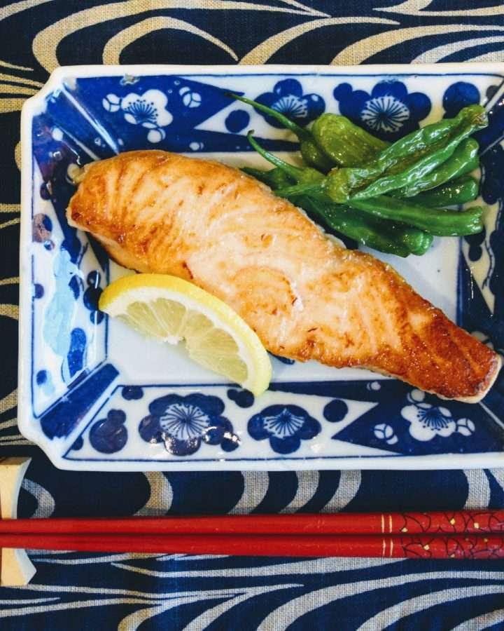 Shio Koji Marinated Salmon