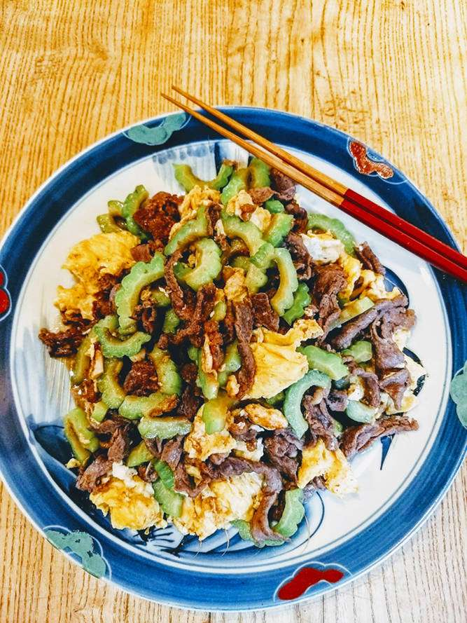 Beef and Bitter Melon with Oyster Sauce Recipe