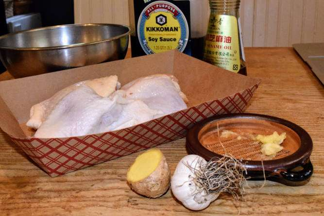 Chicken Karaage Ingredients