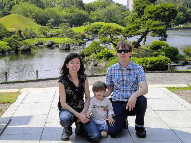 Taking a Break in Tokyo