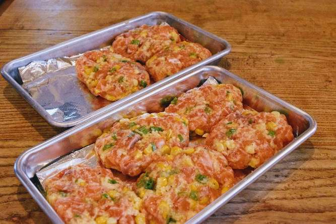 Make Salmon Cakes