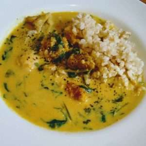 Kabocha Coconut Curry
