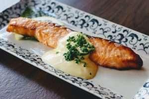 miso marinated salmon