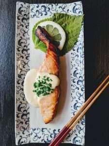 Alaskan Salmon with Citrus Miso