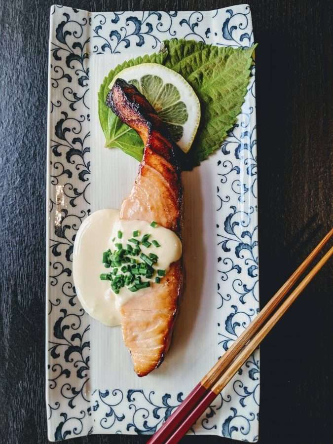 Alaskan Salmon with Citrus Miso