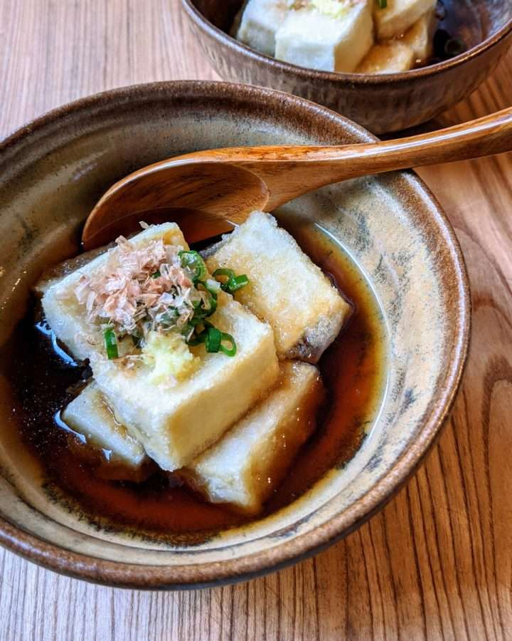 Agedashi, Fried Tofu in Broth