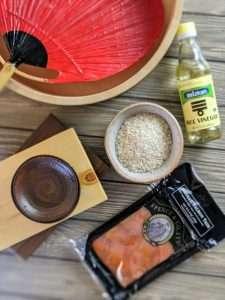 Mari Sushi Ingredients