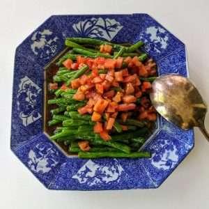warm Green Beans Salad_Finish