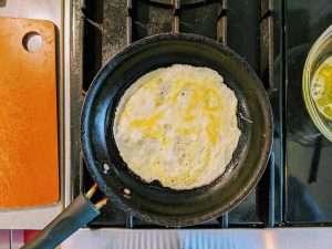 Kinshi-Tamago_Cooking