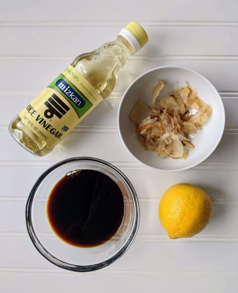 Ponzu Ingredients
