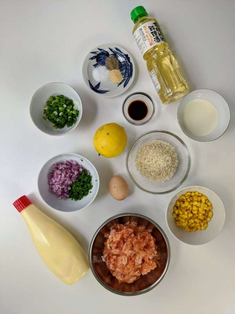 Salmon Cakes_Ingredients