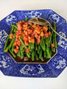 Warm Green Beans Salad_Finished
