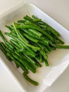 Warm Green Beans Salad_Fried