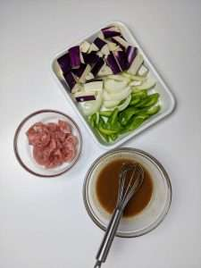 Miso Itame_Prepping