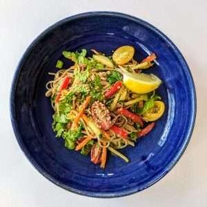 Japanese Soba Salad Recipe