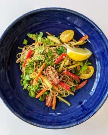 Japanese Soba Salad Recipe