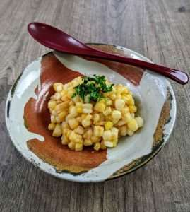 Sweet Corn with Miso Butter