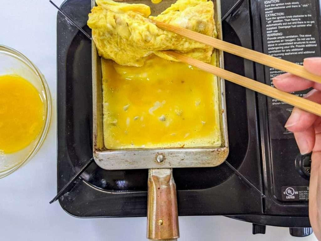Rolling Tamagoyaki