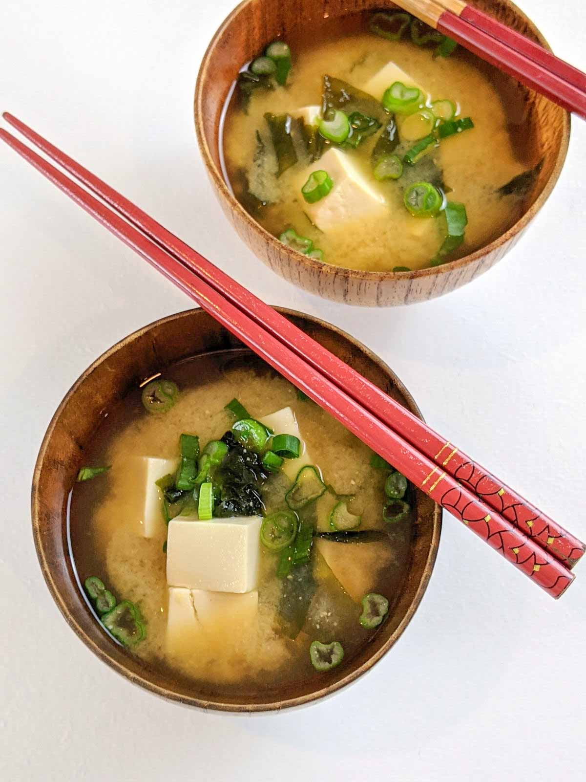 Miso Soup, The Japanese Kitchen